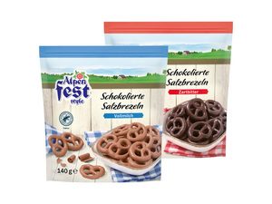 Alpenfest Schokolierte Salzbrezeln