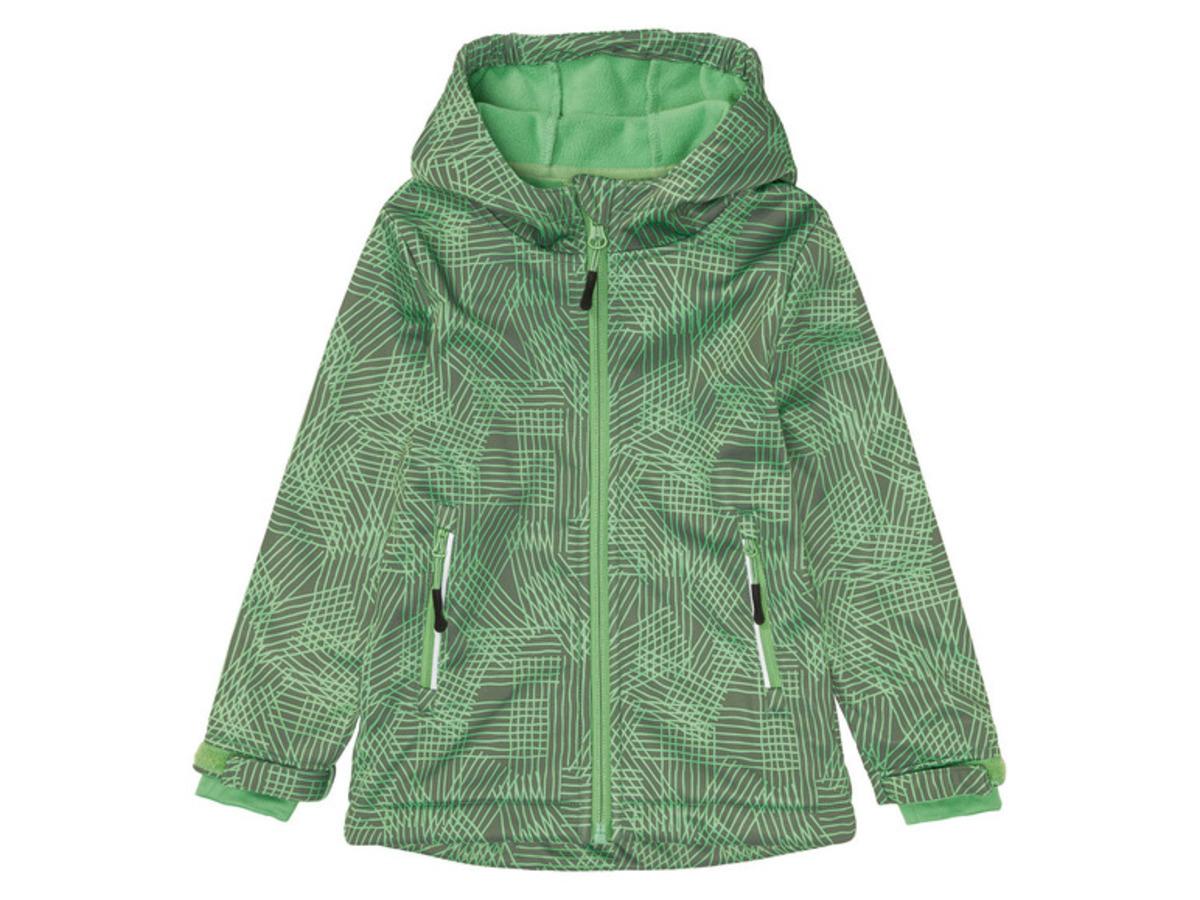 Bild 2 von LUPILU® Kleinkinder Jungen Jacke, aus winddichtem 3-lagigem Softshell-Material