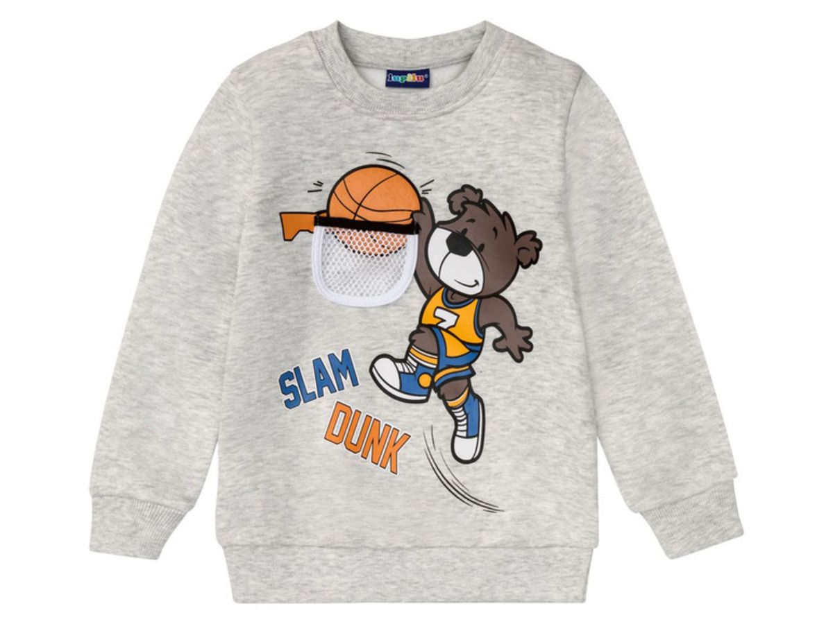 Bild 2 von LUPILU® Kleinkinder Sweatpullover Jungen, mit Baumwolle