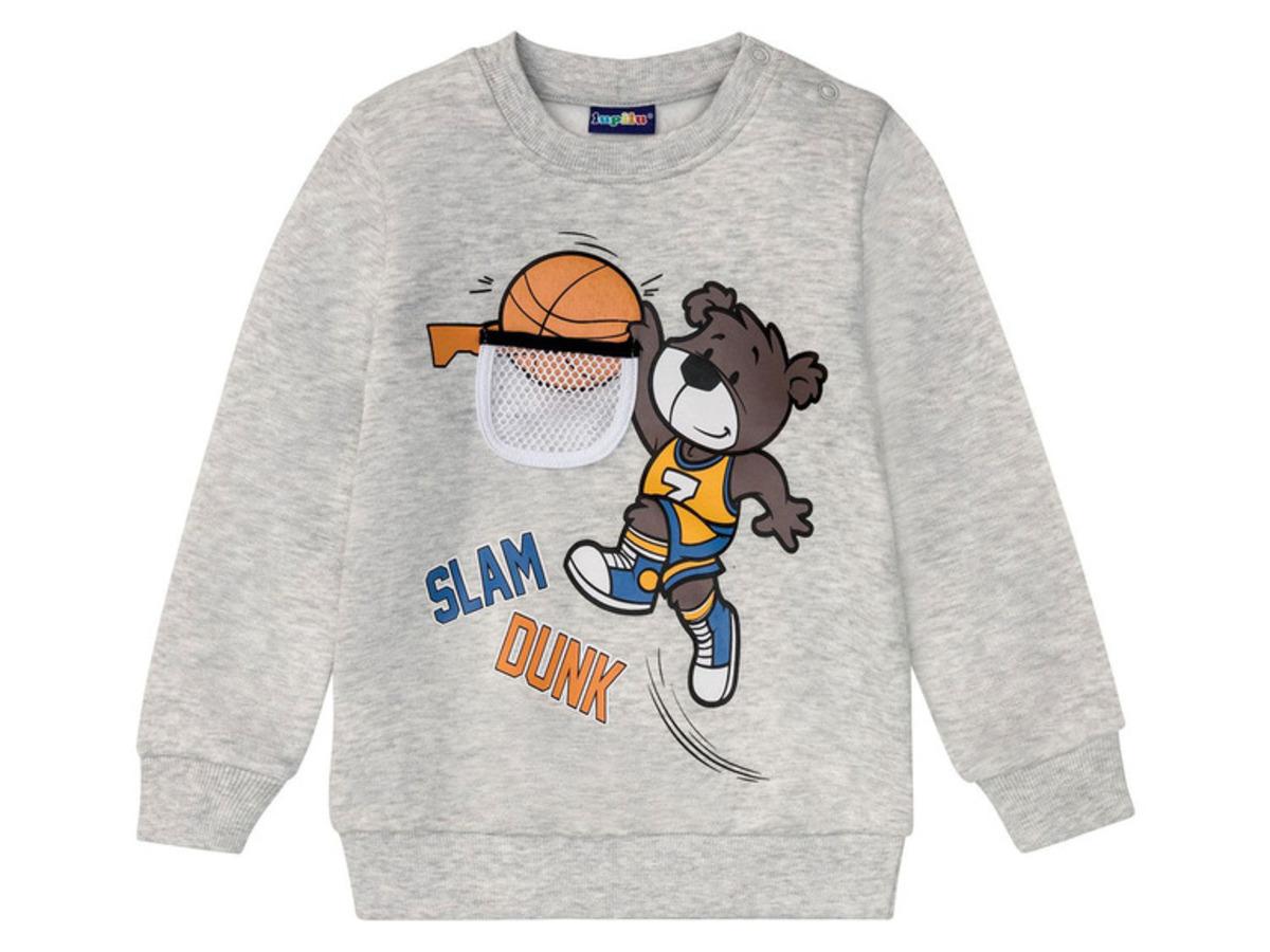 Bild 4 von LUPILU® Kleinkinder Sweatpullover Jungen, mit Baumwolle