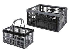 Livarno Home Klappbox 32 L / 16 L, 2 Stück