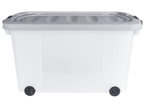 Livarno Home Rollenbox mit Griffen, 45 Liter