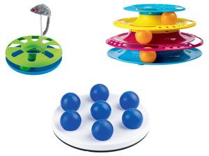 Jollypaw Katzenspielzeug mit Spielbällen