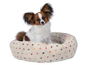 Jollypaw Hundebett »Julien«, ø 50 cm, beige