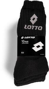 Lotto Herren Socken 10er - versch. Farben & Größen - schwarz - Gr. 39/42
