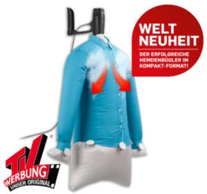 CLEANMAXX Hemden-und-Blusen-Bügler KOMPAKT 04466