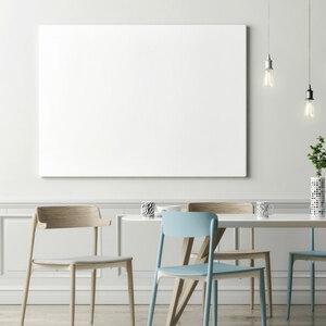 Glas-Schreibtafel, 65 x 100 cm