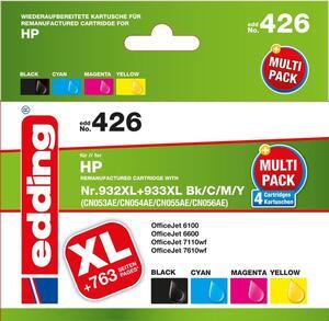 EDDING Mulitpack HP Nr. 932XL-933XL (BK-C-M-Y)