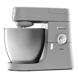 Kenwood Küchenmaschine KVL 4100S Chef XL 6,7 Liter, 1200 Watt, Edelstahlschüssel