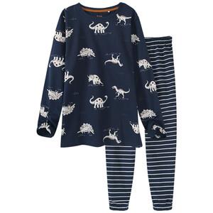 Jungen Schlafanzug mit Dino-Allover