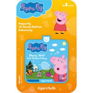 tigercard Peppa Pig: Wendy Wolf hat Geburtstag