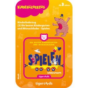 tigercard Kinderliederzug: Kindergarten- und Mitmachlieder,  Spielen