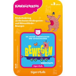 tigercard Kinderliederzug: Kindergarten- und Mitmachlieder – Bewegen