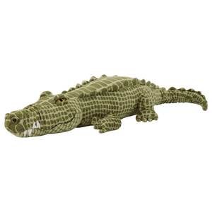JÄTTEMÄTT Stoffspielzeug, Krokodil/grün