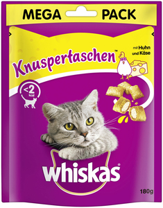 Knuspertaschen Mega Pack 180g Huhn & Käse