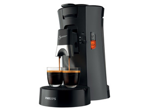 PHILIPS Senseo Select Kaffeepadmaschine, 1 Bar