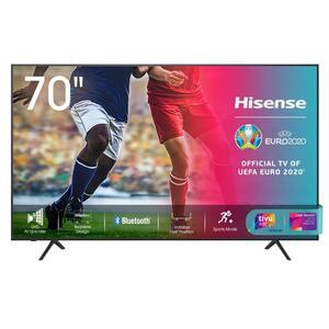 Hisense 4K Ultra HD LED TV 178cm (70 Zoll) 70A7100F, Triple Tuner, HDR10, Smart TV