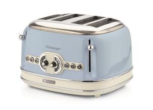 Ariete Vintage 4-Schlitz-Toaster blau