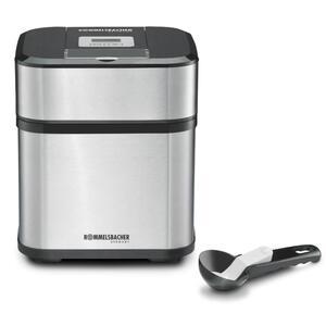 Eismaschine IM 12 Kurt, 1,5 Liter Gefrierbehälter mit 500 ml Füllmenge, 40 Minuten Zeitschaltuhr