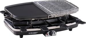 Cloer Raclette 8Er Stein/Platt 6435