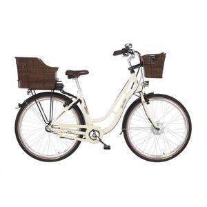FISCHER E-Bike Retro Damen ER 1804 28 Zoll beige