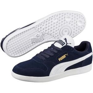 PUMA Icra Trainer Herren Low Sneaker Blau Schuhe, Größe:44