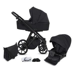 Knorr Kinderwagenset luzon black edition schwarz  2430-06 Luzon Black Edition  Textil