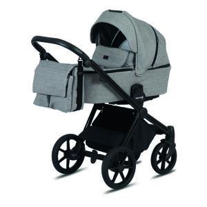Knorr Kinderwagenset life + 2.0 graphitfarben  3360-02 Life+ 2.0  Textil