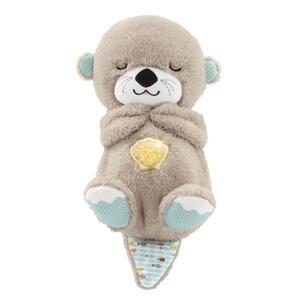 Fisher-Price Schlummer-Otter, Einschlafhilfe Baby, Spieluhr, Kuscheltier