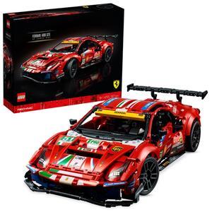 """LEGO 42125 Technic Ferrari 488 GTE """"AF Corse #51"""" Supersportwagen, exklusives Sammlermodell, Sammlerset für Erwachsene"""