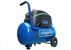 Scheppach Kompressor GK240ofx 8 bar, 24 l, 180 l/min, 1,1 kW, ölfrei