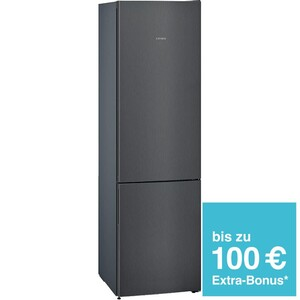 Siemens Kühl-/Gefrierkombination KG 39 EEXCA Schwarz TopTeam
