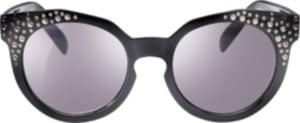SUNDANCE Sonnenbrille für Kinder schwarz mit Glitzer-Verzierung