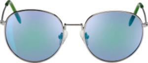 SUNDANCE Sonnenbrille für Kinder Metallrahmen mit grünen Details