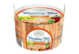 Frischkäse-Fass