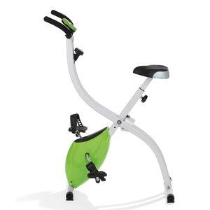 VITALmaxx Heimtrainer mit magnetischer Bremse - limegreen/weiß, Mehrfarbig