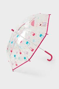 C&A Peppa Wutz-Regenschirm, Pink, Größe: 1 size