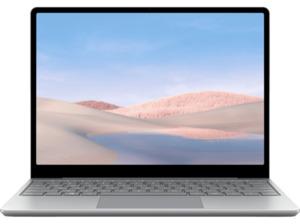 MICROSOFT Surface Laptop Go, Notebook mit 12,45 Zoll Display Touchscreen, Intel® Core™ i5 Prozessor, 8 GB RAM, 128 SSD, UHD-Grafik, Platin