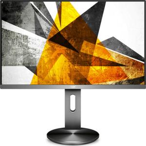 AOC U2790PQU - 69 cm (27 Zoll), LED, IPS-Panel, 4K-UHD, Höhenverstellung, USB-Hub, DisplayPort