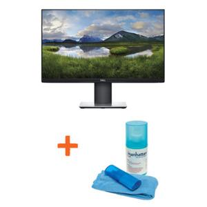 Dell P2419H - 60 cm (23,8 Zoll), LED, IPS-Panel, Pivot, DisplayPort, HDMI + Manhattan Reinigungsset