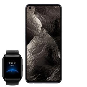 "Realme GT Master 128 GB Cosmos Black inkl. Realme Watch 2 Black [16,33cm (6,43"") Super AMOLED Display, Android 11, 64MP Triple-Kamera]"
