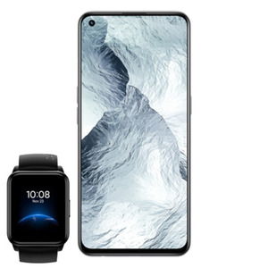 "Realme GT Master 128 GB Luna White inkl. Realme Watch 2 Black [16,33cm (6,43"") Super AMOLED Display, Android 11, 64MP Triple-Kamera]"