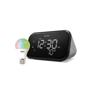 Lenovo Smart Clock Essential + Lenovo Smart Bulb