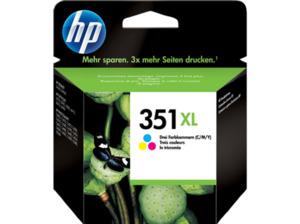 HP 351XL Tintenpatrone Cyan/Magenta/Gelb (CB338EE)