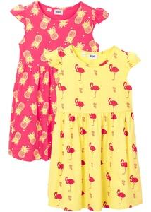 Mädchen Sommerkleid (2er-Pack) aus Bio-Baumwolle