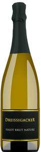 Dreissigacker Pinot Brut Nature 2014 - Schaumwein, Deutschland, brut, 0,75l