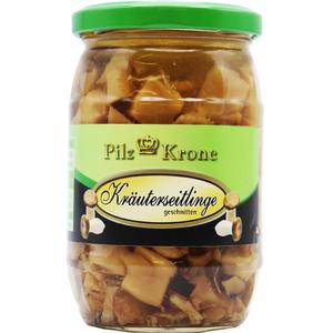 Pilz Krone Kräuterseitlinge