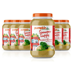 Pumpkin Organics BIO Suppe Brokkoli & Parmesan, 6er Pack