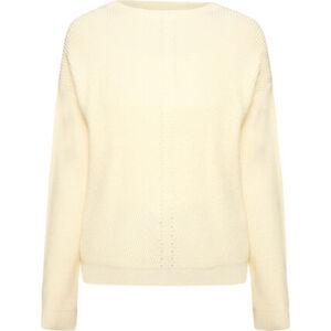 MANGUUN Pullover, Strickstruktur, überschnittene Ärmel, für Damen