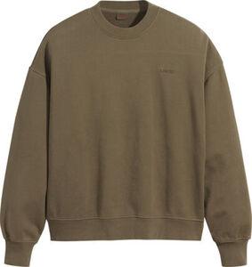 Levi's® Sweatshirt, Rundhals, uni, Langarm, für Damen